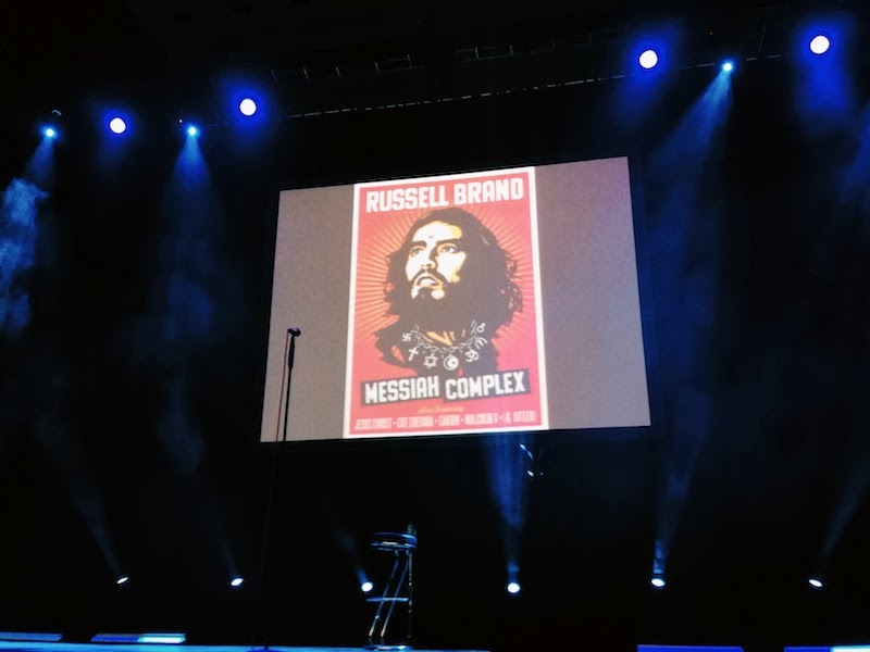 russell brand messiah complex colston hall bristol 2013