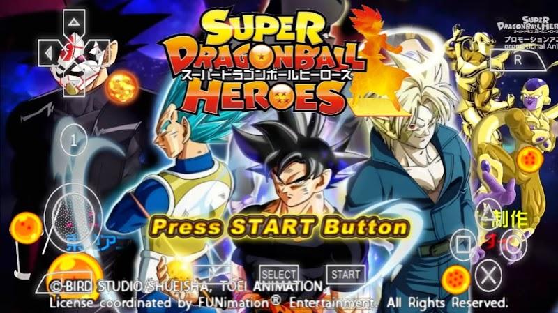 Super Dragon Ball Heroes DBZ TTT MOD ISO With Permanent Menu