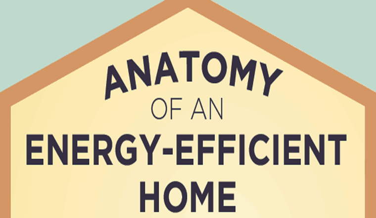 Easy Ways To Make Your Home Energy Efficient #infographic