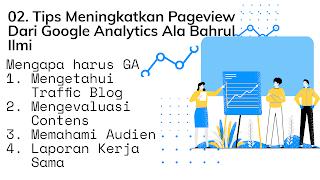 Mengulik google analitik kak Baim