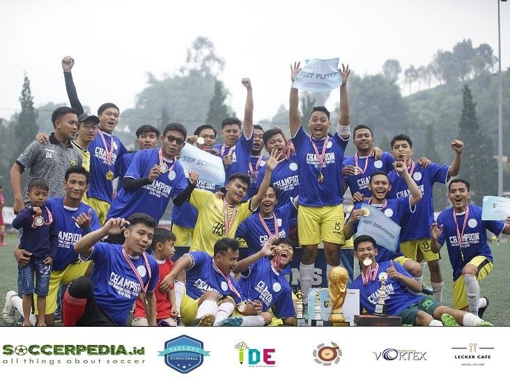 Ini Dia Sang Jawara Liga Bandung Famili Football (LBFF