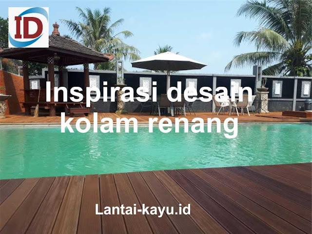 inspirasi desain kolam renang