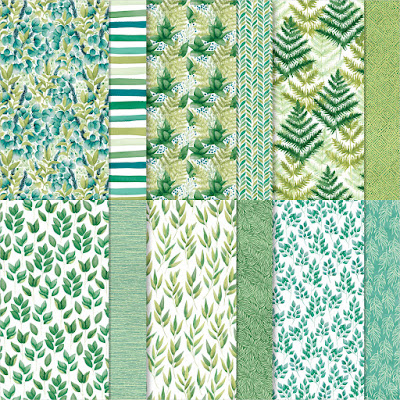 Forever Greenery Designer Series Paper, 12x12 paper, patterned paper, paper sale, craft supplies sale, craft sale, stampin' up! sale, designer series paper sale, nicole steele, the joyful stamper, independent stampin' up! demonstrator from pittsburgh pa