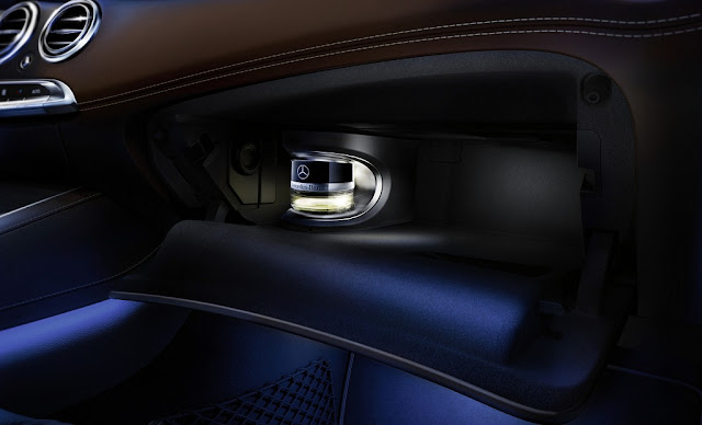 Mercedes S500 Cabriolet 2017 trang bị Hệ thống tạo hương thơm thông minh