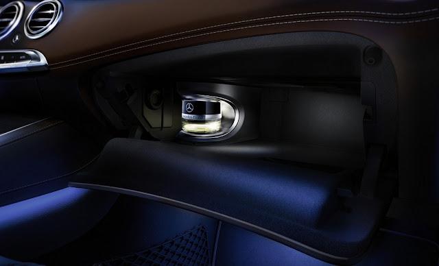 Mercedes S500 Cabriolet 2018 trang bị Hệ thống tạo hương thơm thông minh