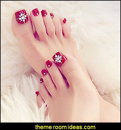 toe nails fancy feet decals - nail art designs - decorate your toes - toenail designs - toenail decorations