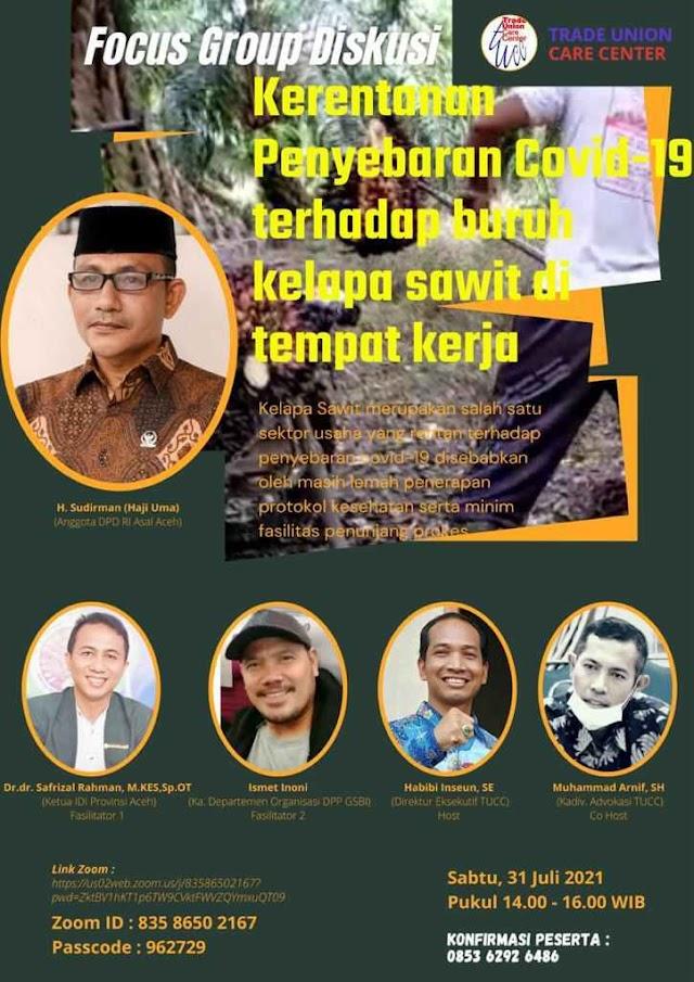 Dalam Acara TUCC, Haji Uma Dorong Pemerintah untuk Tingkatkan Pemulihan Ekonomi Masyarakat