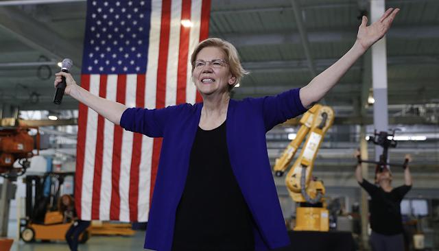 Trump campaign zeroes in on a new threat: Elizabeth Warren