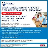 E-COMMERCE COMPANY IN DUBAI JOB VACANCIES