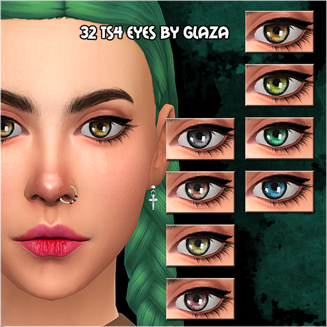 32 ts4 eyes by glaza
