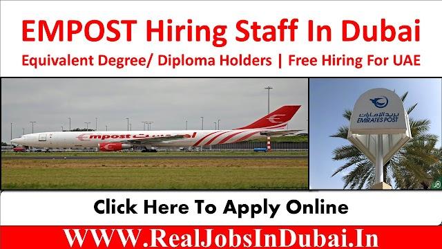 EMPOST Careers Jobs Vacancies In Dubai UAE 2021