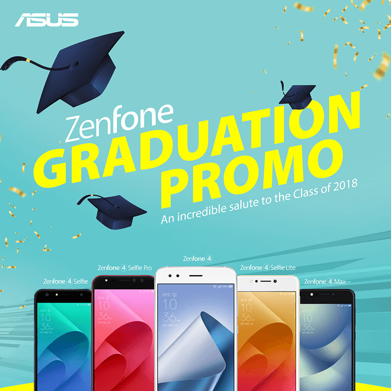 ASUS PH announces ZenFone Graduation Promo