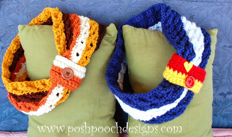 Fiber Flux Chunky Cowls 25 Free Crochet Patterns