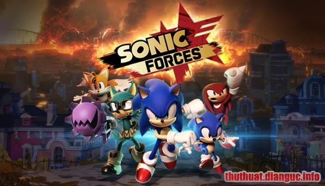 Download Game Sonic Forces Full Crack