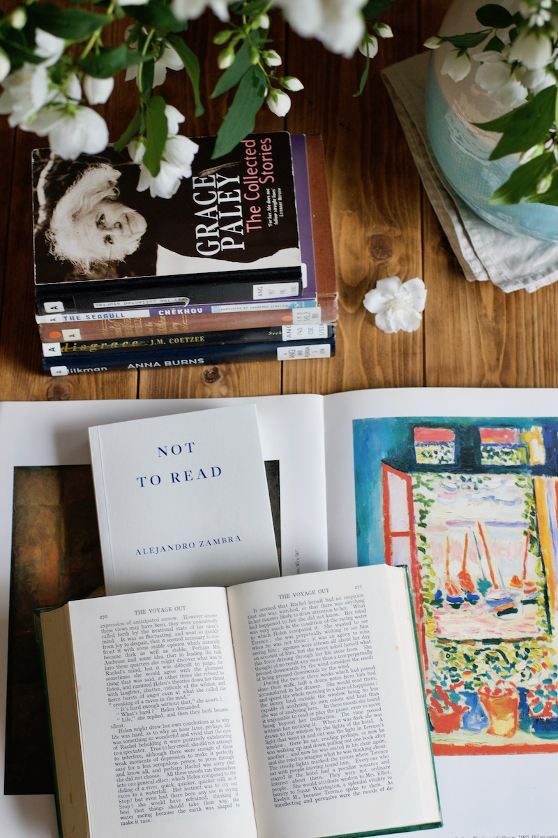 № 21 bókalisti: Alejandro Zambra, Grace Paley, Virginia Woolf, Anna Burns · Lísa Hjalt