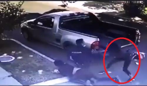 Video: Mujer malandra quedo herida de gravedad tras querer despojar de su arma a un Policía en el enfrentamiento de Zapopan; Jalisco
