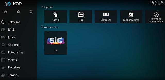 Inserir Lista IPTV no Kodi