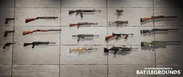 Panduan dan Daftar Dan Spesifikasi Senjata PUBG