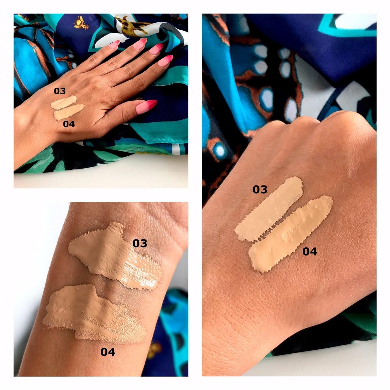 Bell Hypoallergenic Nude Liquid Powder 04, swatche, odcienie,