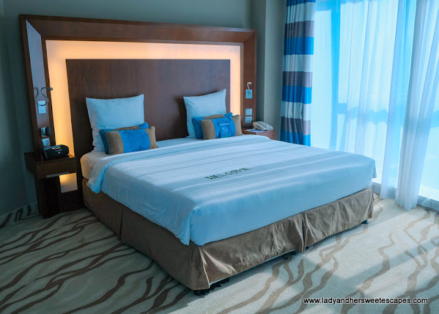 Novotel Al Barsha bedroom