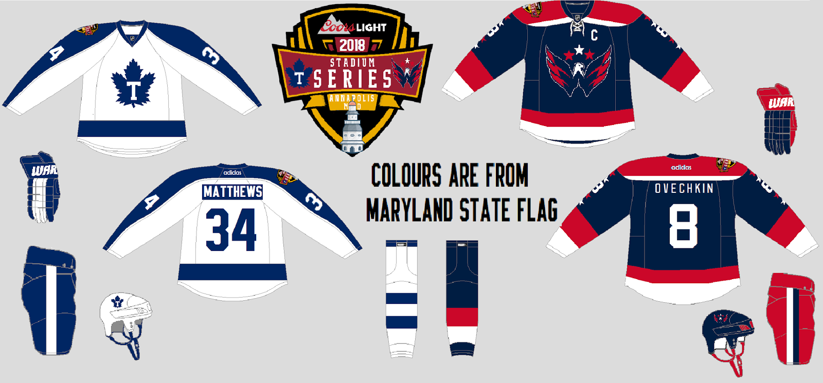A lot of issues here. 1) No ID on the concept. 2) logo on the Caps concept  is too large and WAY too pixelated. 3) inside of the caps jersey should be  ... a017526a4