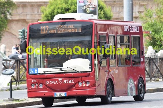 Roma, 1000 bus elettrici entro il 2030