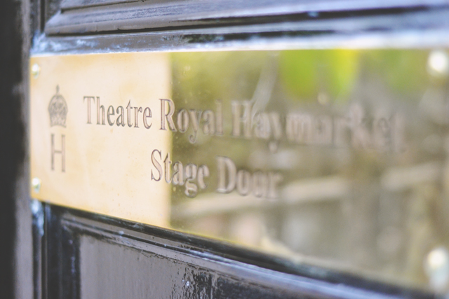 Theatre Royal Haymarket Stage Door