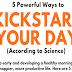 5 Powerful Ways to Kickstart Your Day #infographic