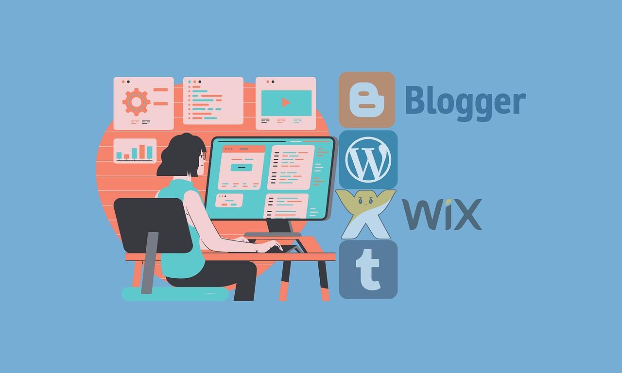 معنى بلوجر - blogger