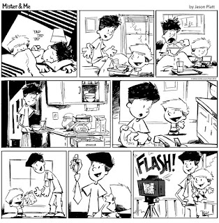 The Sunday Comics - Mister And Me
