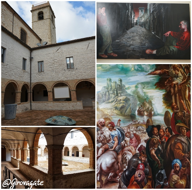 Arcevia complesso San Francesco Marche