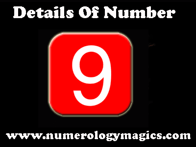 number 9 details in numerology, characteristics of number nine