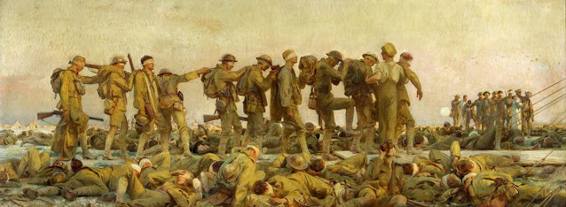 Gassed (1919) John Singer Sargent (American, 1856-1925) Oil on Canvas 90½ x 240 in. Imperial War Museums, London