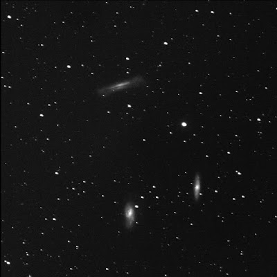 the Leo Triplet galaxy group in luminance