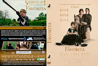 CARATULA LA FAVORITA - THE FAVOURITE - 2018