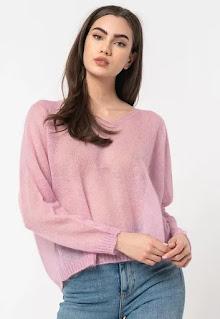 Max&Co - Дамски Пуловер Cristina с мохер