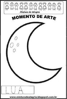 Projeto Pátria, desenho de lua