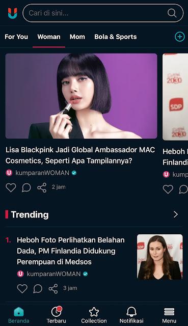 aplikasi berita terbaik kumparan