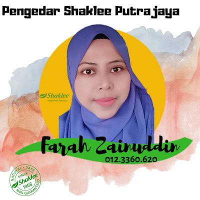 Pengedar Shaklee Putrajaya 0123360620