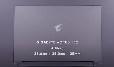Gigabyte AROUS 15G: Gaming Laptop with RTX Super
