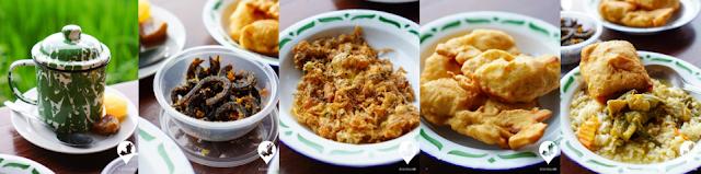 Makanan Pawon Gebyok