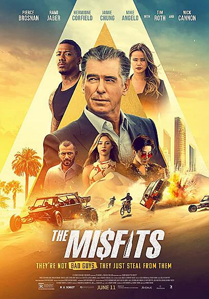 Sinopsis Film The Misfits (2021) - Tim Roth, Pierce Brosnan