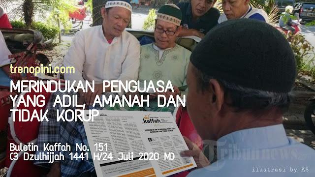 Buletin Kaffah No. 151 (3 Dzulhijjah 1441 H/24 Juli 2020 M)