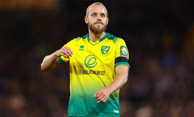 Norwich City striker photo