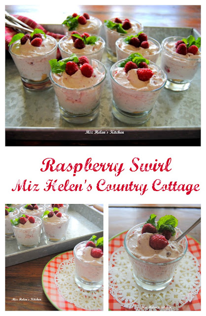Raspberry Swirl at Miz Helen's Country Cottage