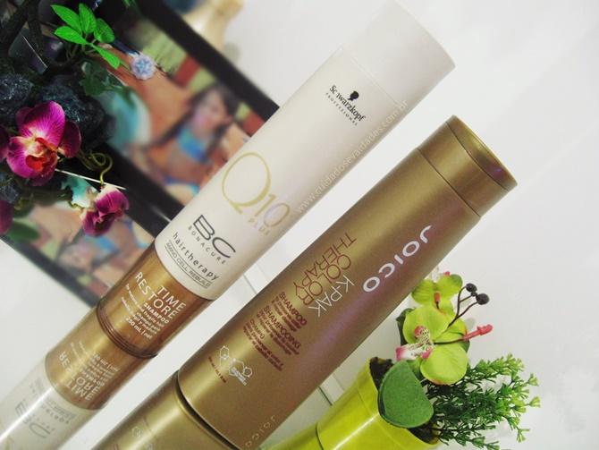 Shampoos Hidratantes / Fortalecedores com proteção de cor
