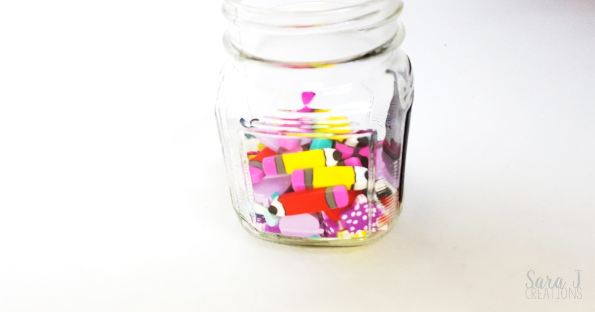 10 ways to use mini erasers for learning.  So many ideas for math, literacy, STEM and more!