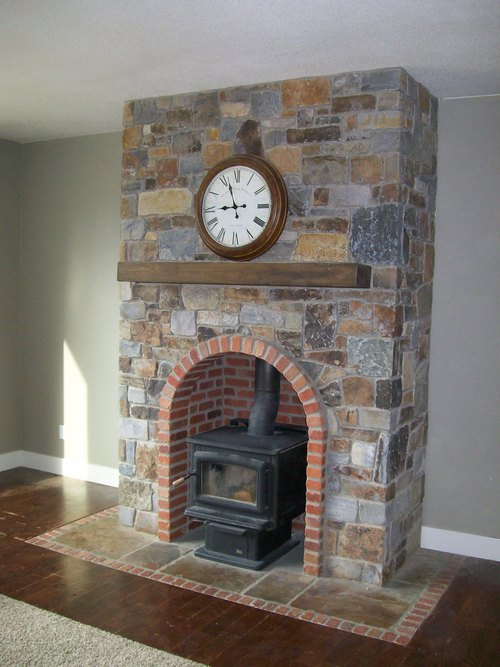 Fireplace Wood Inserts Brick Laminate Picture: Brick Fireplaces For Stoves