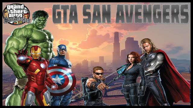 GTA San Avengers Mod Pack Ultra Graphics Download