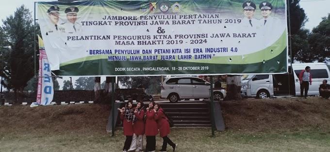 Selamat dan Sukses Atas Terselenggaranya Jambore Penyuluh Tingkat Provinsi Jawa Barat Tahun 2019